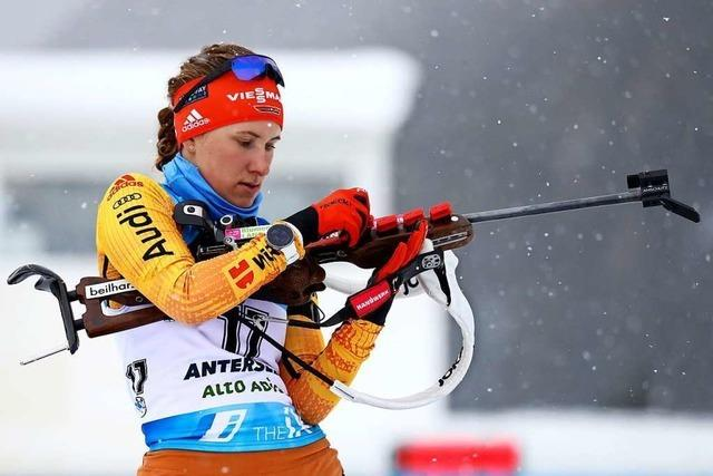 Janina Hettich Fünfte im Weltcup-Einzelrennen von Antholz