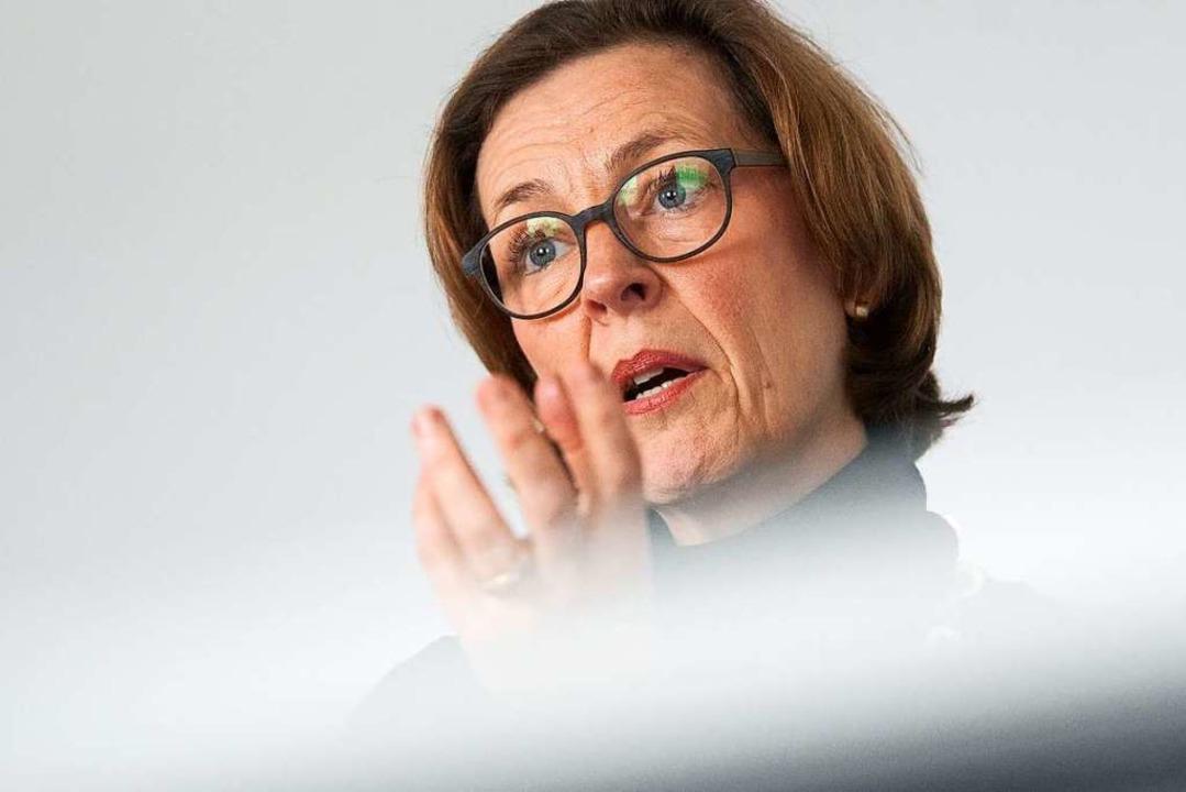 Beate Bube, Präsidentin des Landesamtes für Verfassungsschutz Baden-Württemberg  | Foto: Marijan Murat (dpa)