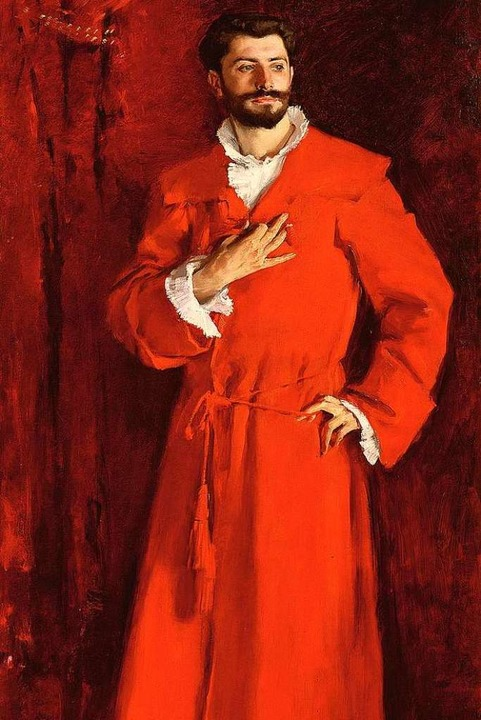 Dr. Samuel Pozzi (1846-1918) war ein e...emälde stammt von John Singer Sargent.  | Foto: ©Bridgeman Images