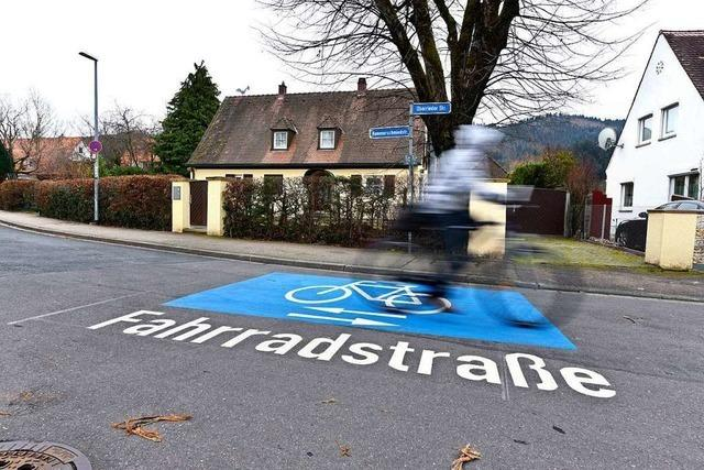 Die Stadt will fünf Straßenzüge zu Fahrradstraßen umbauen