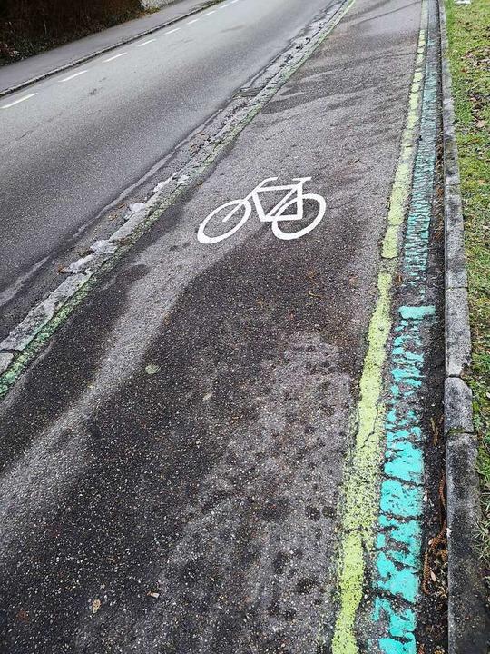 Die Offenburger Radwege sind ohnehin in die Jahre gekommen.  | Foto: Ralf Burgmaier