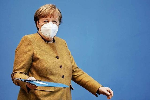 Merkel warnt vor verfrühten Lockerungen der Corona-Maßnahmen