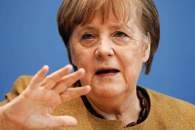 Bundeskanzlerin Merkel: Die strikten Lockdown-Maßnahmen zeigen Wirkung