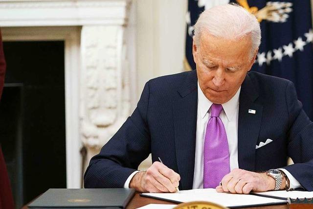 Biden will Abrüstungsvertrag mit Russland um fünf Jahre verlängern
