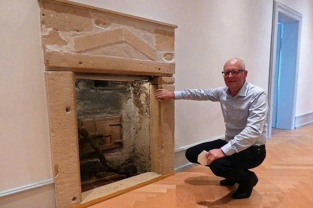 Verborgene Kamine werden bei Sanierung wieder entdeckt