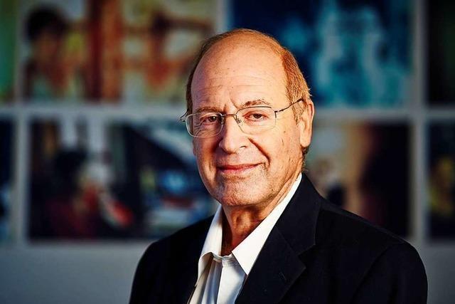 Der israelische Historiker Gideon Greif spricht in Freiburg