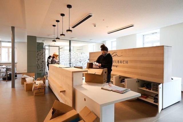 Die Verwaltung zieht wieder im frisch sanierten Seelbacher Rathaus ein