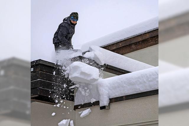 Schnee, Sturm und Starkregen