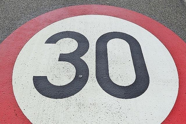 Der Freiburger Vorstoß zu Tempo 30 kommt vorerst zum Stillstand
