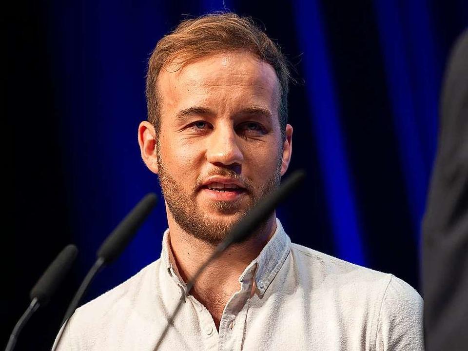Marius Buhl  | Foto: Paul Zinken (dpa)