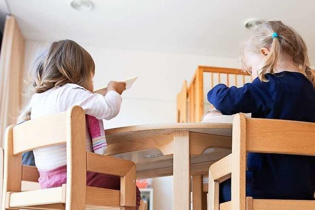 Kindertagesstätten in der Region Freiburg werden immer voller