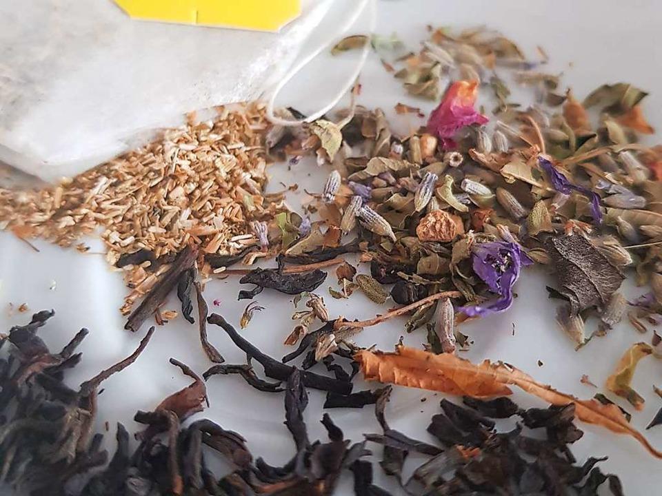 Oder Teesatz.    Foto: Claudia Förster Ribet