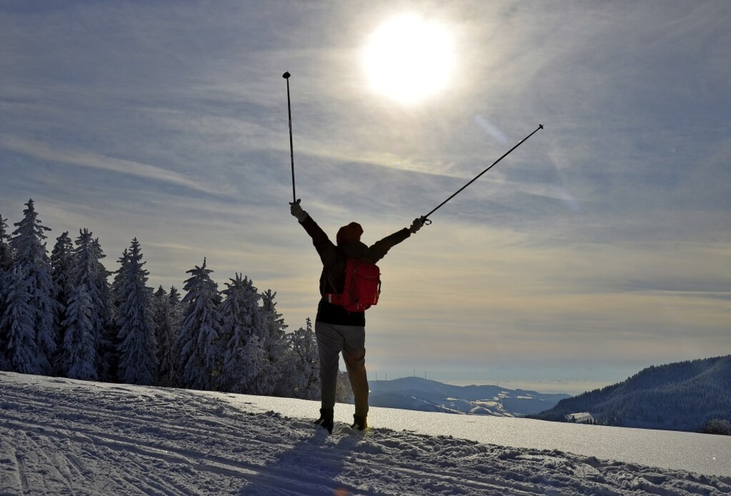 Der Winter liefert in diesem Jahr butt...neeflächen und wunderschöne Ausblicke.  | Foto: Anita Fertl
