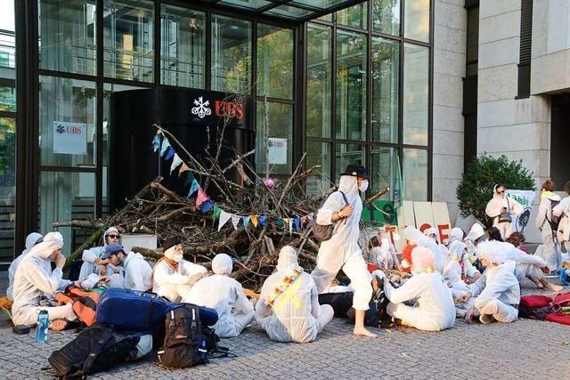 Basler Gericht spricht fünf Klimaaktivisten frei