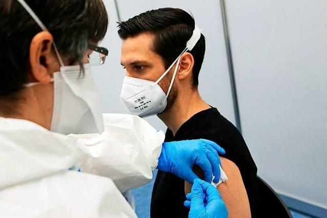 Im Kreisimpfzentrum in Lahr wurden die Ersten geimpft