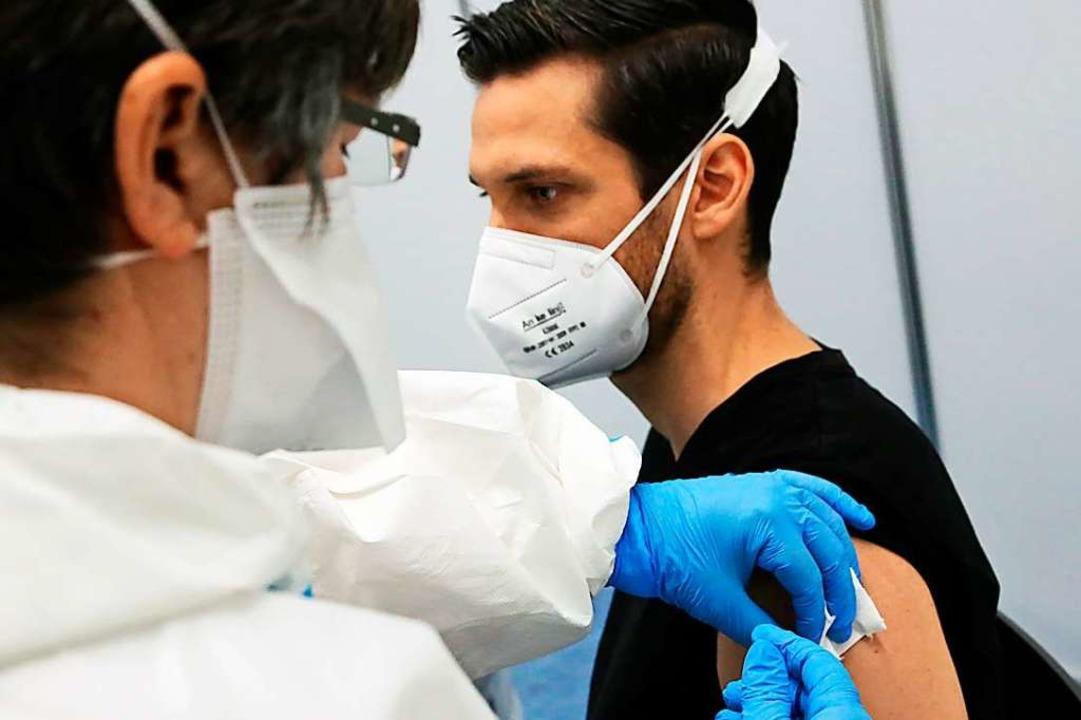 Neurologe Andreas Wagner  war unter de...pfdosis von Biontech-Pfizer erhielten.  | Foto: Landratsamt Ortenaukreis