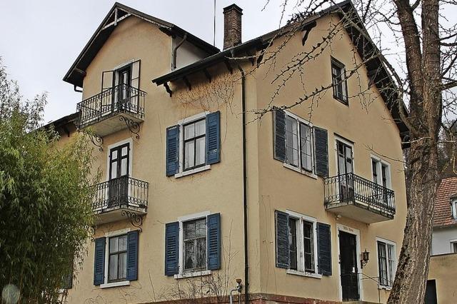 Die Villa Stein wird zum Drei-Familien-Wohnhaus