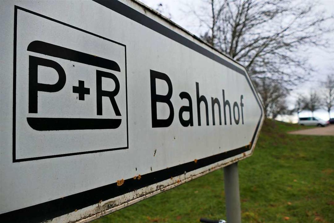 Der Park-and-Ride-Platz müsste für den ZOB weichen.    Foto: Simone Höhl