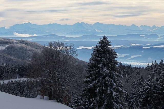 Traumhafter Alpenblick bei Gersbach