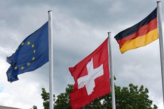 Deutschland und Schweiz wollen schärfere Grenzkontrollen vermeiden