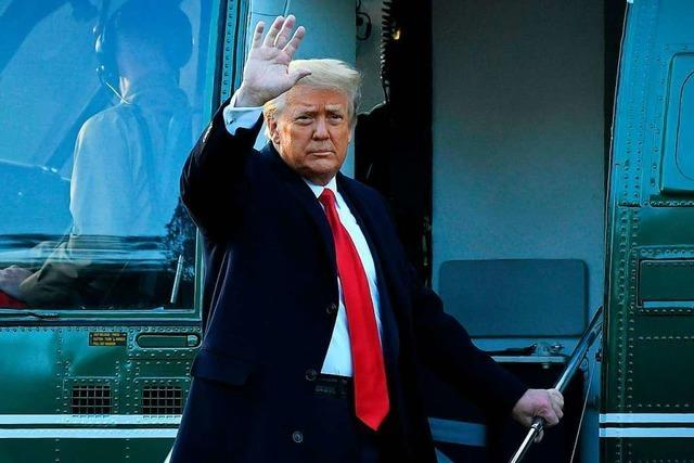 Amtsenthebungsverfahren gegen Trump beginnt in zweiter Februarwoche