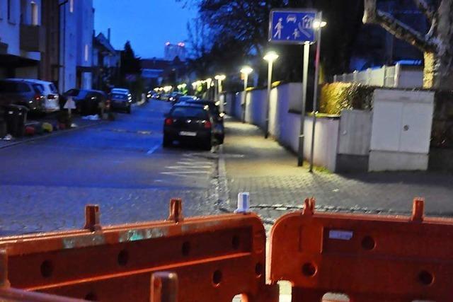 Ein defektes Erdkabel sorgte für Dunkelheit in Teilen von Lörrach-Stetten
