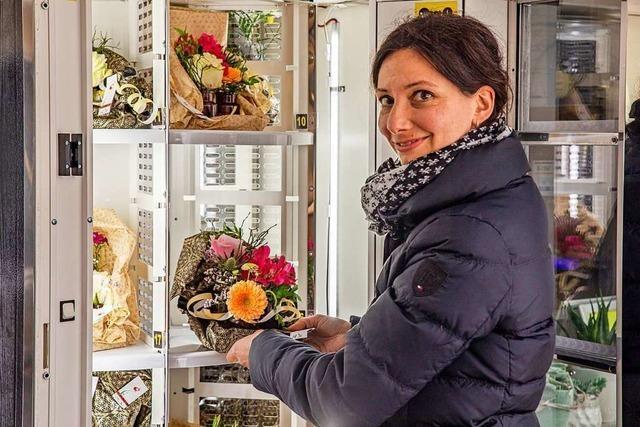 Wurst und frische Blumen aus dem Automaten gibt es in Au und Eichstetten