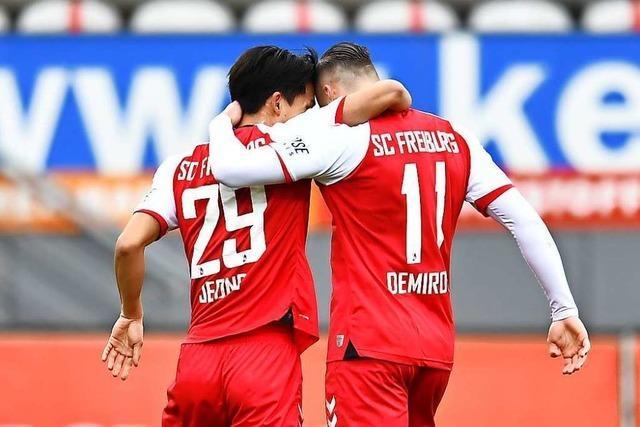 Stärkster SC-Spieler im Derby: Demirovic wird immer wertvoller