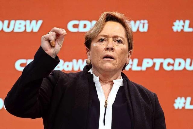 Eisenmann mahnt bei Südwest-CDU mehr Selbstbewusstsein an