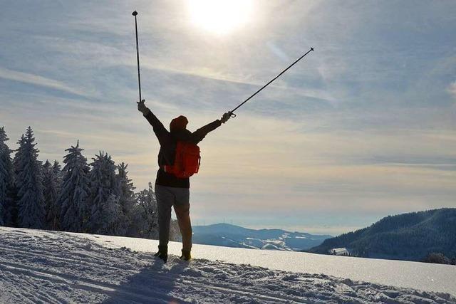 Rendezvous mit dem Winter beim Langlauf am Notschrei