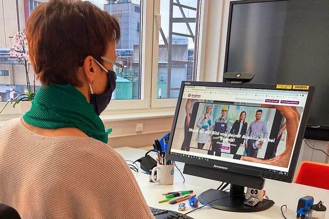 Die digitale Ausbildungsmesse von Evonik in Rheinfelden kommt bei Nutzern gut an