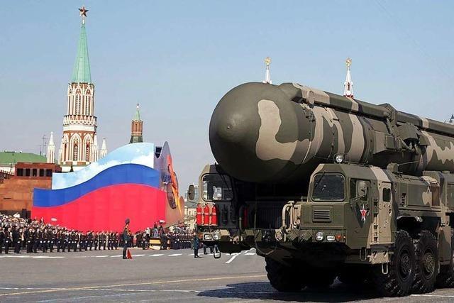 Russen zeigen sich bei atomarer Abrüstung
