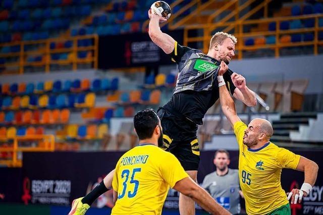 Nach WM-Aus: Deutsche Handballer mit Sieg gegen Brasilien