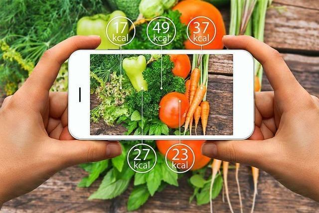 Wie gut helfen Ernährungs-Apps beim abnehmen?