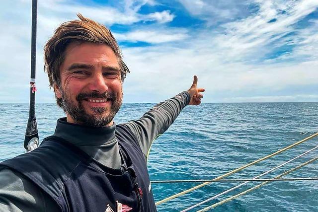 Weltumsegler könnte als erster Deutscher die Vendée Globe gewinnen