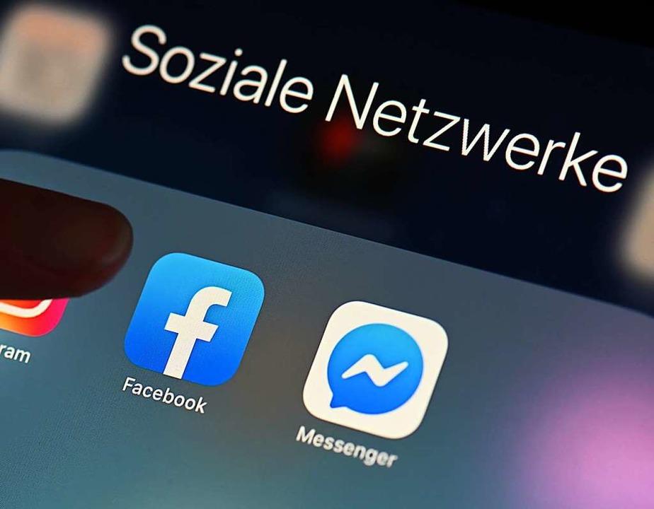Facebook ist mit 2,74 Milliarden Nutzern das größte soziale Medium  | Foto: Uli Deck (dpa)
