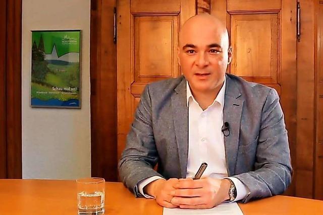 Schuttertals Bürgermeister macht den Menschen in der Gemeinde Mut