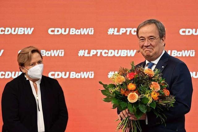 Spitzenkandidatin gibt sich auf dem CDU-Landesparteitag kämpferisch