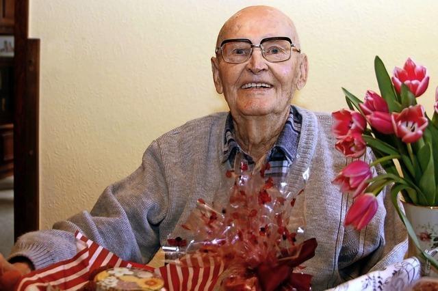 Ernst Jäger feiert 103. Geburtstag