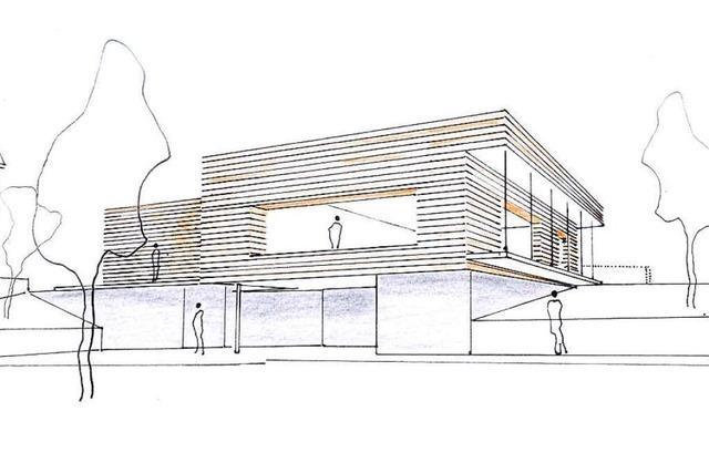 Der Plan für Badenweilers neues evangelisches Gemeindehaus steht