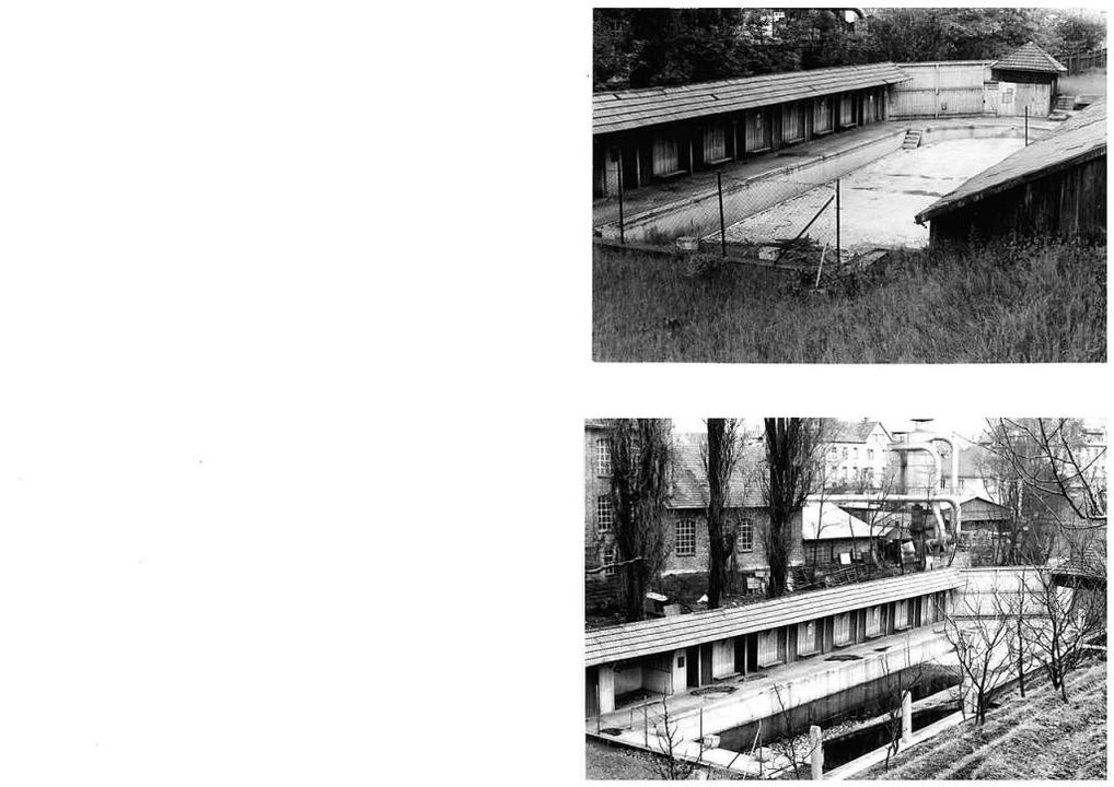 Der Blick auf das Aktienbad auf einer Ansichtskarte aus dem Jahr 1965.     Foto: Archivfotos