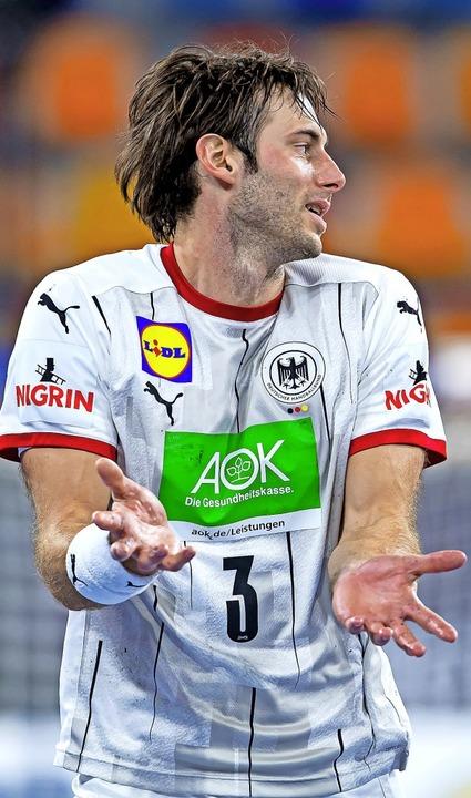 Guter oder schlechter Kapitän? Uwe Gensheimer wird hart kritisiert.  | Foto: Sascha Klahn (dpa)