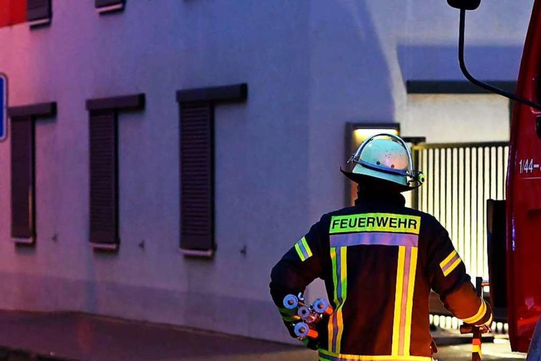 Einsatz für die Feuerwehr in Steinen (Symbolbild)  | Foto: Jonas Hirt