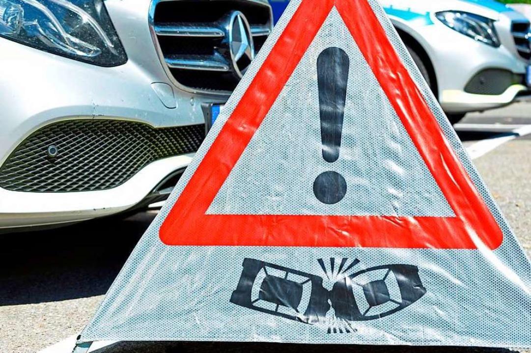 Nach einem Unfall in Freiburg-Tiengen sucht die Polizei Zeugen.  | Foto: Michael Bamberger