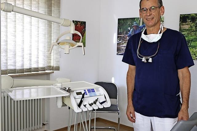 In Zahnarztpraxis geht das Licht aus