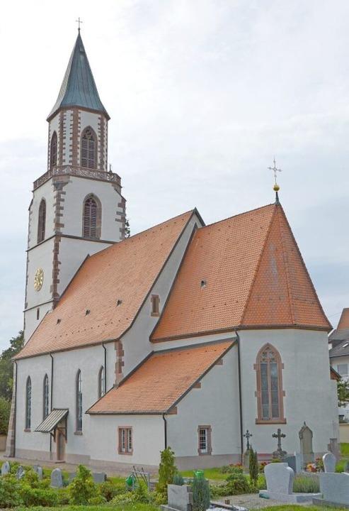 Wegen  ihres Charmes wird die St. Gall...onen zur kirchlichen Trauung genutzt.     Foto: Horatio Gollin