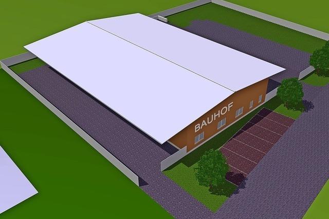 Voller Zuschuss für den neuen Bauhof