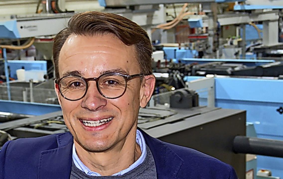 Geschäftsführer Christian Krauss  | Foto: Sebastian Barthmes