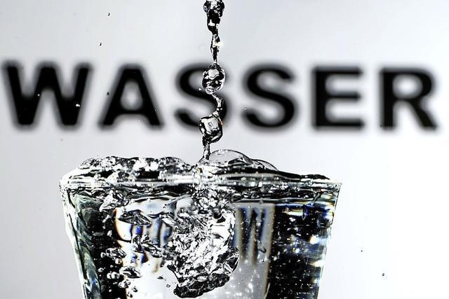 Weniger Wasser verbraucht