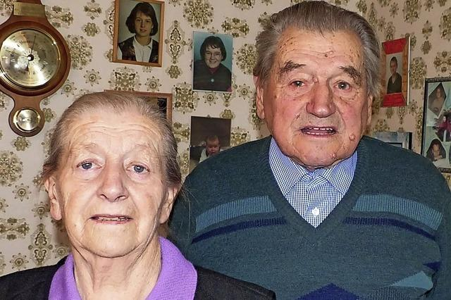 Vor 65 Jahren traute sich das Paar in Ichenheim